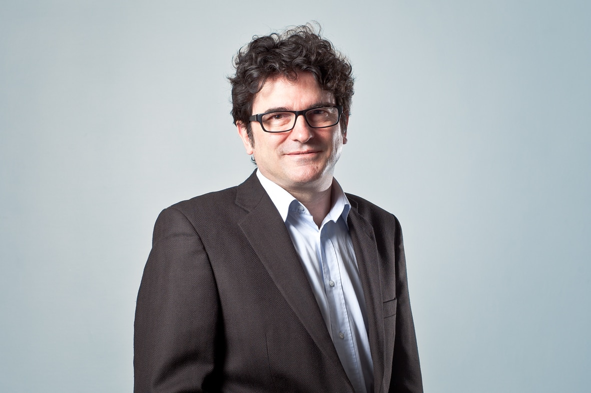 Portrait de Thierry Moizan, dirigeant de l'agence AuViWeb.